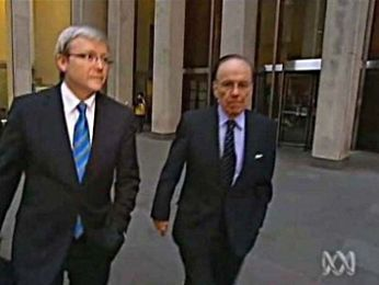 EXCLUSIVE: The curious case of Kevin Rudd, Newscorp, ABC and the contract