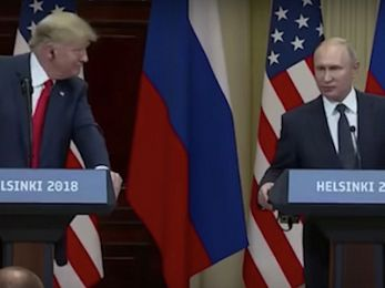 Does Putin have something on Trump?