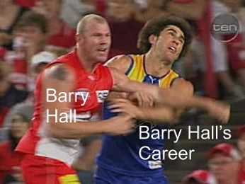 Triple Mmmm Barry Hall of shame and the Leyonhjelm scandal