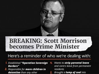 Scott Morrison: The lump of coal PM