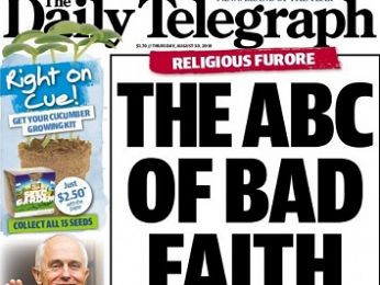 Daily Telegraph bashes bible-basher bashers up Hillsong and down dale