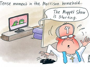 CARTOONS: Father Mark David meets the Muppets