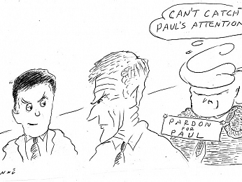 CARTOON: Paul's pardon