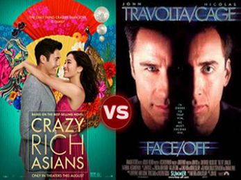 Screen Themes: Crazy Rich Asians vs Face/Off