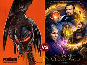 Screen Themes: The Predator vs The House With a Clock in Its Walls