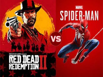 Screen Themes: Red Dead Redemption 2 vs Spider-Man