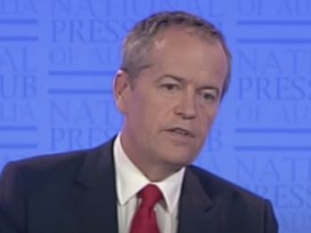 Bill Shorten, where the bloody hell are you?