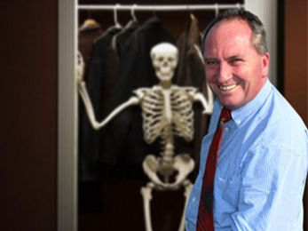 The skeletons in Barnaby's closet