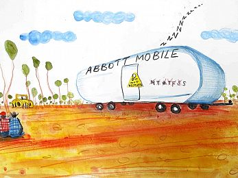 No way to close the gap on Abbott's Indigenous lie