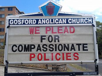 Churches combine to condemn Abbott's evils