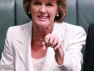 Julie Bishop's 'soft' power