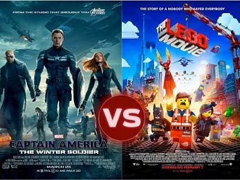Screen Themes — The Lego movie vs Captain America: The Winter Soldier
