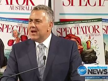 Joe Hockey's heavy lifting — for some