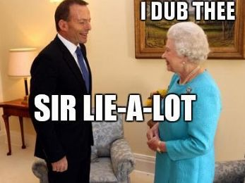 How Abbott lied, trashed protocol and offended everyone — including the Queen
