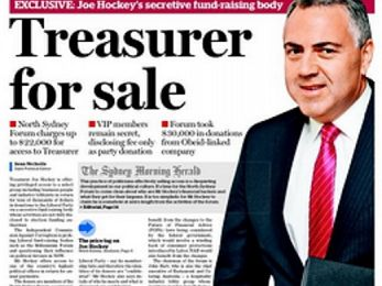 The things we do for love: Joe Hockey after dark