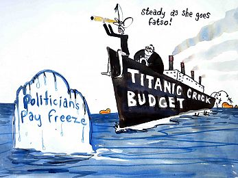 Captain Abbott and his Titanic climate stupidity