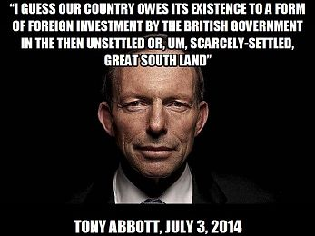 Tony Abbott, terra nullius and Warren Mundine