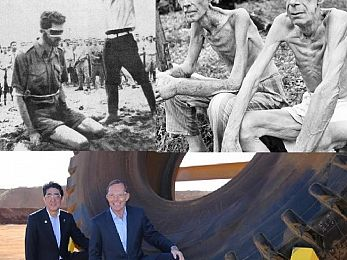 Fawning Abbott and the honour of Shinzō Abe