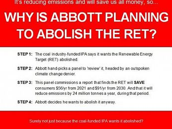 Abbott's pre-prepared RET review does the business for Big Mining
