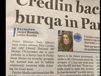 Abbott's worms: Pyne's vacation and the Credlin domination