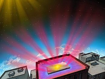Photonic radiative cooling: Hi-tech mirror offers hope for warming planet