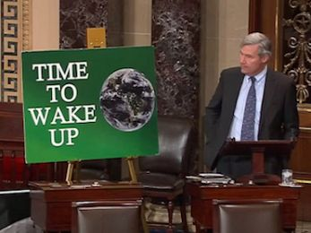 Time to Wake Up: The Climate Denial Beast