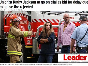 Up in flames: Kathy Jackson's bid to delay Federal Court snuffed out