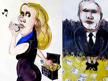 The very different worlds of Craig Thomson and Kathy Jackson
