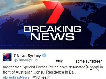 7News Sydney's Bali 'bomb' terrorism sensationalism under the microscope