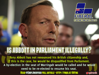 You've got to hand it to Abbott (citizenship, that is)