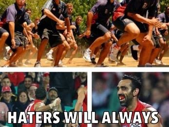 Australia is racist: Reaction to Adam Goodes' dance is just more proof