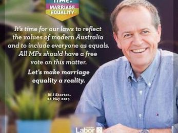 The unpaid bill: Labor and moral equivocation on same sex marriage