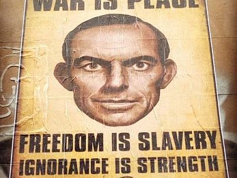 What Orwell can tell us about the Abbott Government