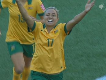 Good win for Matildas before Origin II