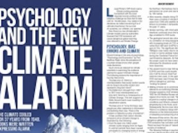 Australian Psychological Society disturbed by climate denialists' misleading advert