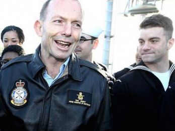 Bombing Syria smells like a khaki election, Mr Abbott