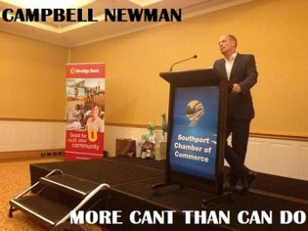 Campbell Newman: Can Do cant