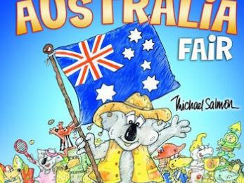 Let's dump our anthem's outdated lyrics and replace with these: Australia We Share
