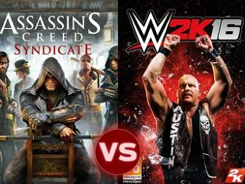 Screen Themes: Assassins Creed: Syndicate vs WWE 2K16