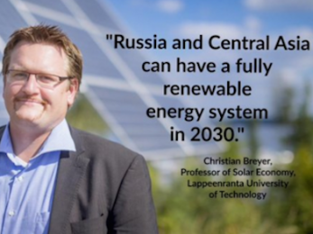 Renewables could supply all Russian and Central Asian energy needs by 2030