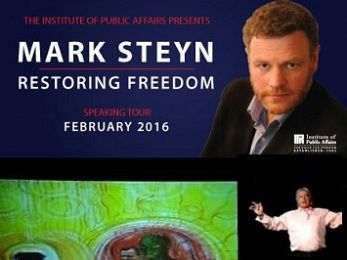 Climate science denier Mark Steyn in Australia ... and other reptilian weirdness