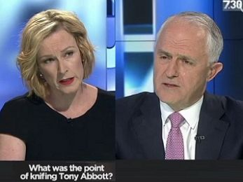 TRANSCRIPT: PM Talcolm Murnbull with Leigh Salessistant on ABC $7.30