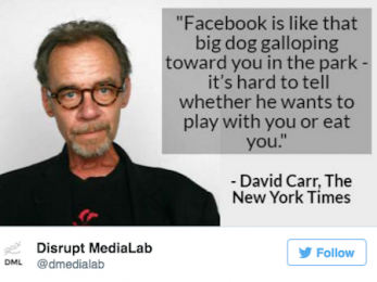 Should we worry that social media giants are taking over the publication of our daily news?