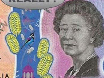 Get your Queen off our fiver!