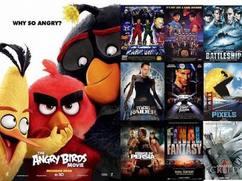 Screen Themes — Angry Birds and the History of Video Game Movies