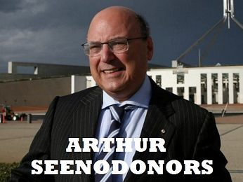 The Free Enterprise Foundation, Michael Yabsley and Arthur Seenodonors