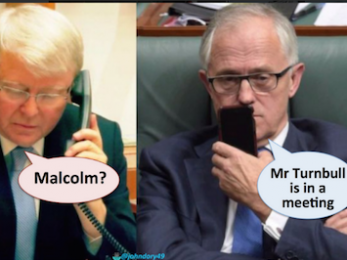 Was Rudd out of his depth?