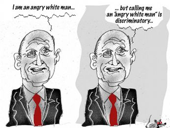 Leyonhjelm on 18C: Never been a better time for two white men to duke it out