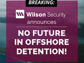 Wilson Security bows out of the Turnbull Government's abusive detention centres