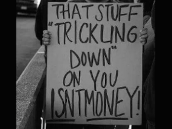 Trickle-down economics: The 'free market' fable